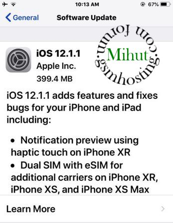 iOS 12.1.1 updated with an expanded ...
