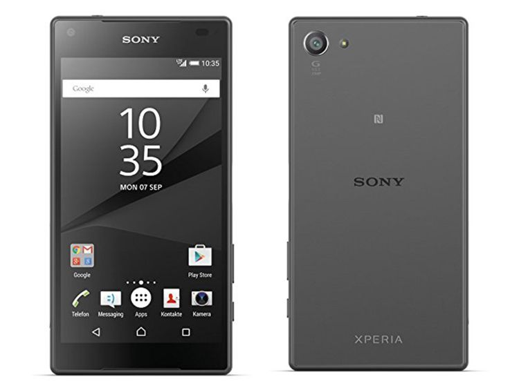 How to unlock Sony Xperia Z5 Compact using sim network unlock code