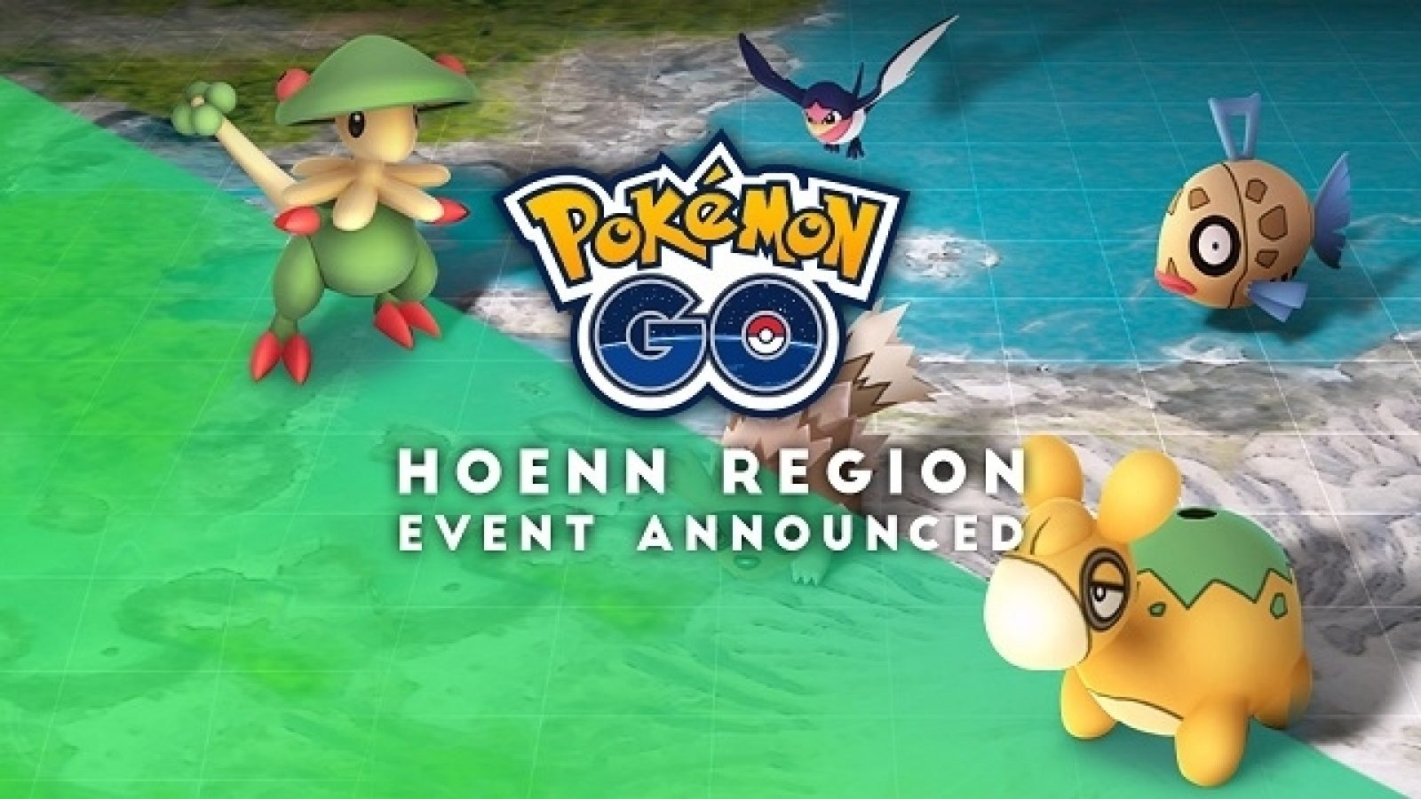 Pokemon Go Hoenn Event starts today