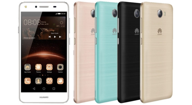 New version of Huawei Y5