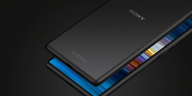 Sony Xperia 10 Ultra, awesome display ...