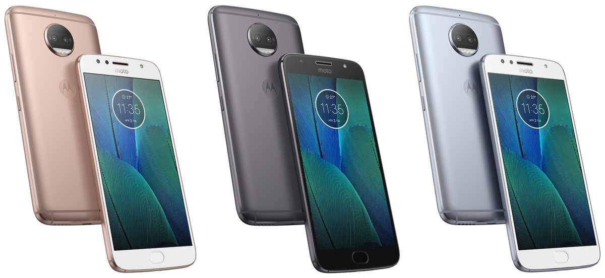 Render of three colour variants of Moto G5S Plus leaked