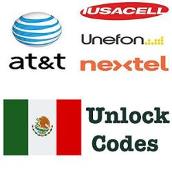 Unlock by code Huawei from AT&T (Iusacell, Nextel, Unefon) Mexico network