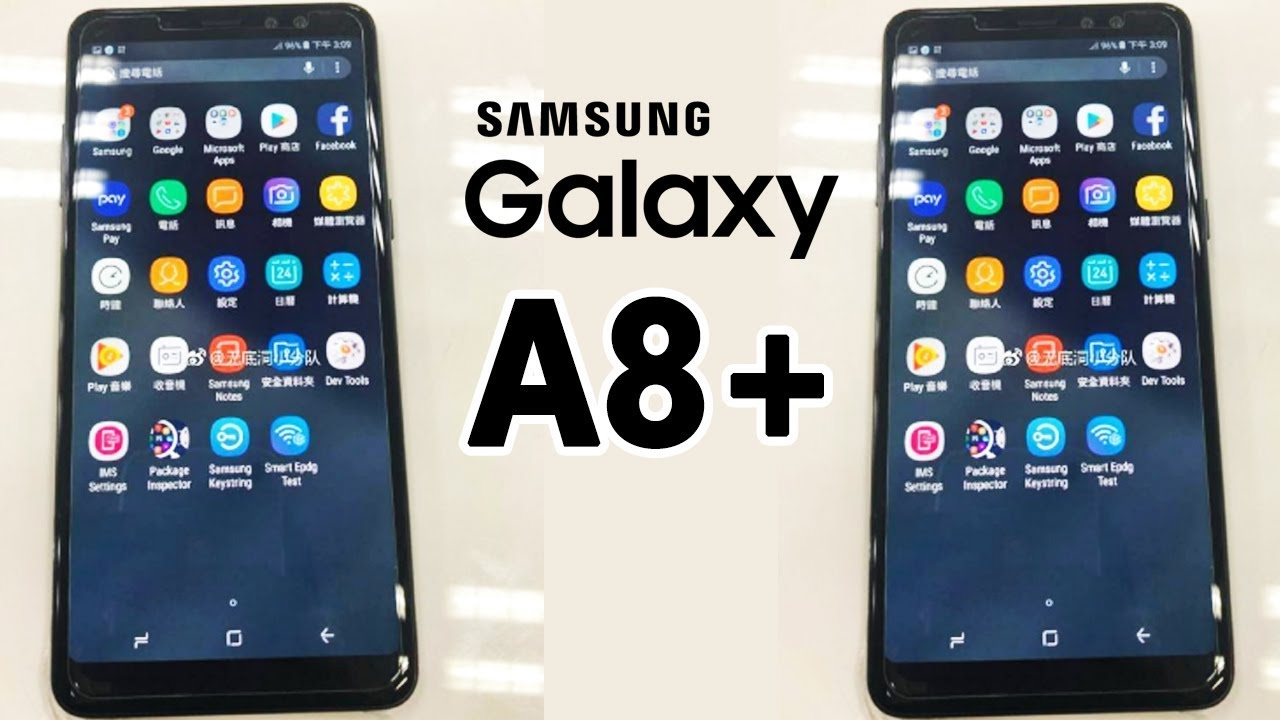 Specs of Samsung Galaxy A8 Plus (2018) confirmed