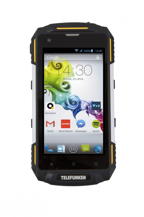 Telefunken Outdoor LTE - a cheap phone that will outlive us all