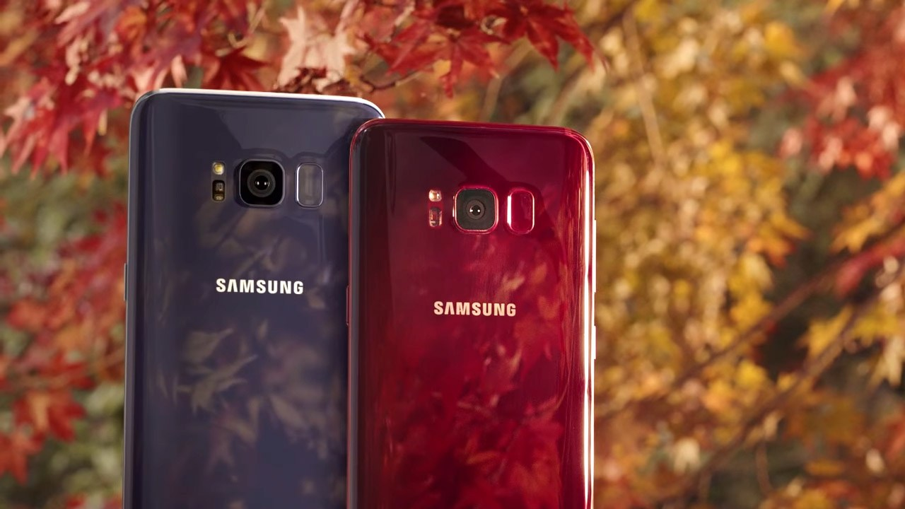 Samsung Galaxy S8 Burgundy Red release data confirmed