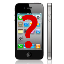 Apple iPhone network finder