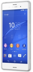 Unlocking by code Sony Xperia Z3