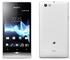 Unlocking by code Sony Xperia miro