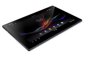 Unlocking by code Sony Tablet Z