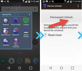 Official Unlock from MetroPcs USA (Mobile Device Unlock app) | sim