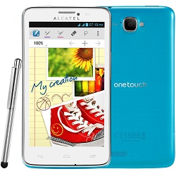 Unlocking by code Alcatel OT-Scribe Easy