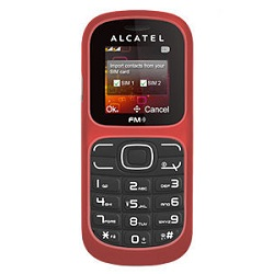 Unlocking by code Alcatel OT 217