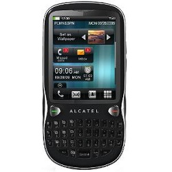 Unlocking by code Alcatel OT 806