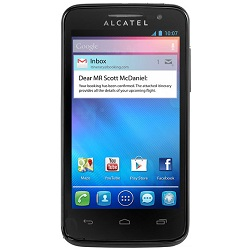 Unlocking by code Alcatel Touch M Pop