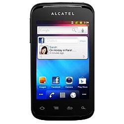 Unlocking by code Alcatel OT 983