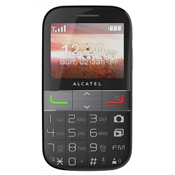 Unlocking by code Alcatel 2001X