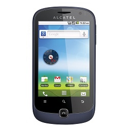 Unlocking by code Alcatel OT-990