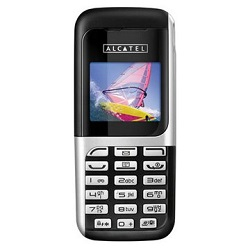 Unlocking by code Alcatel OT 205
