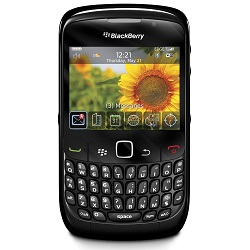 Unlocking by code Blackberry Curve 8500