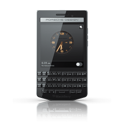 Unlocking by code Blackberry Porsche Design P9983