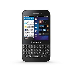 How to unlock Blackberry Q5