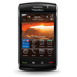 How to unlock Blackberry Storm 2