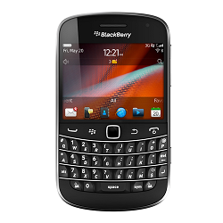 How to unlock Blackberry 9900
