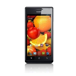 Unlocking by code Huawei Ascend P1 S