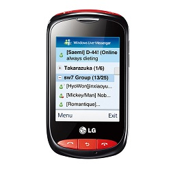 Unlocking by code LG Cookie WiFi T310i
