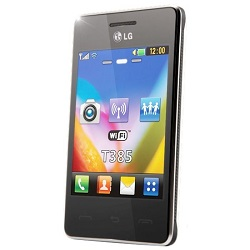 How to unlock LG T385