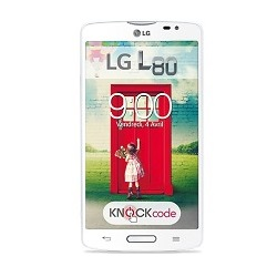 Unlocking by code LG L80 Dual