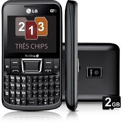 Unlocking by code LG Tri Chip C333