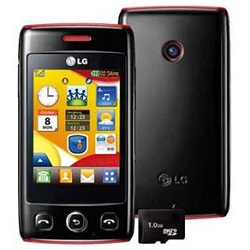 Unlocking by code LG T300 Wink
