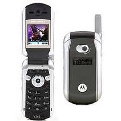 Unlocking by code Motorola V265
