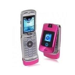 Unlocking by code Motorola V3I Pink