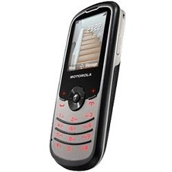 Unlocking by code Motorola WX260