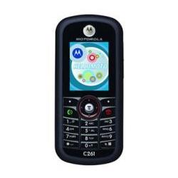 Unlocking by code Motorola C261