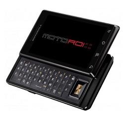 Unlocking by code Motorola MotoROI