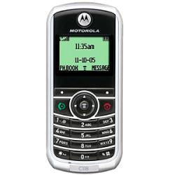 Unlocking by code Motorola C118