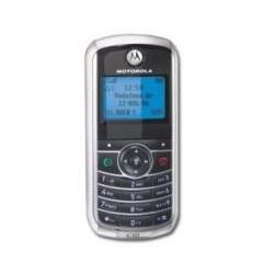Unlocking by code Motorola C121