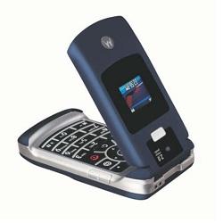 Unlocking by code Motorola V3x