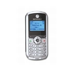 Unlocking by code Motorola C123