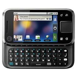 Unlocking by code Motorola MB508 Flipside