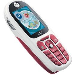 Unlocking by code Motorola E375