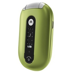 Unlocking by code Motorola U6 PEBL Green