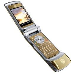 Unlocking by code Motorola K1 KRZR Champagne Gold