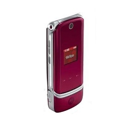 Unlocking by code Motorola K1m KRZR Red