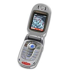 Unlocking by code Motorola V550