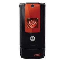 Unlocking by code Motorola W5